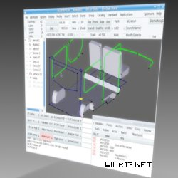 gCAD3D CAD screenshot
